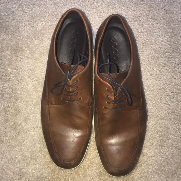 68741415 Size 12 Ecco dress shoes (Men's)